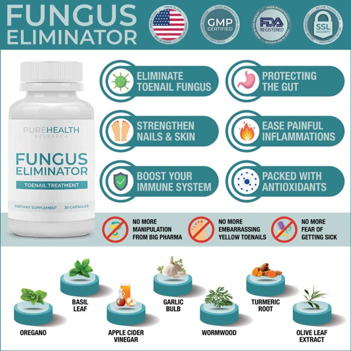 Pure Health Research Fungus Eliminator