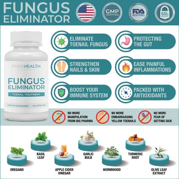 Pure Health Research Fungus Eliminator