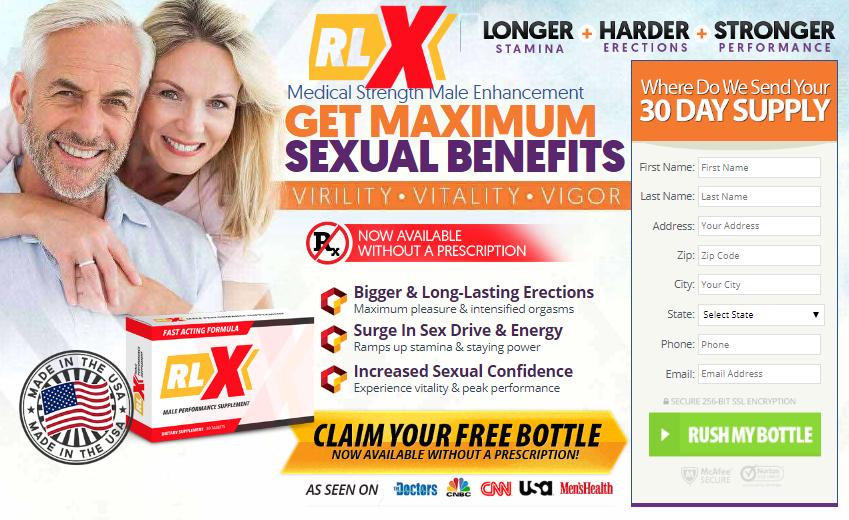 Order RLX Male Enhancement