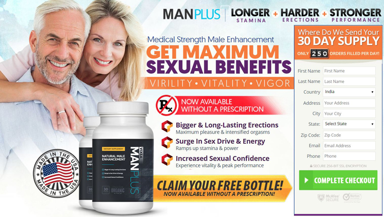 Vixea ManPlus Male Enhancement