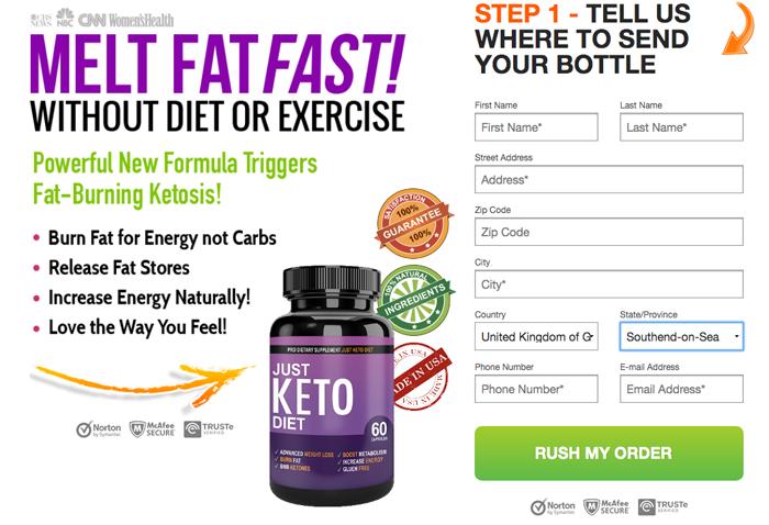order Just Keto Diet