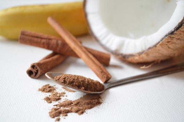Cinnamon with coconut oil