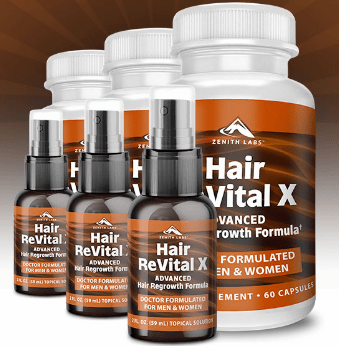 Zenith Lab's Hair Revital X