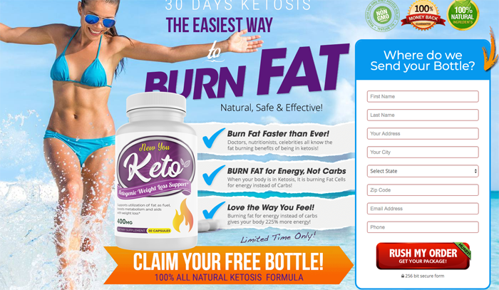 order new you keto supplement