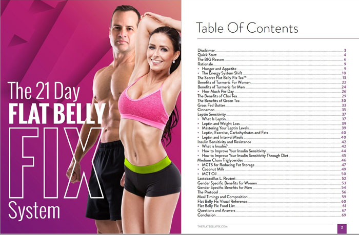 the flat belly fix reviews