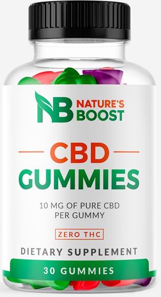 Nature's Boost CBD Gummies