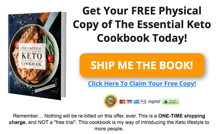 The Essential Keto Cookbook PDF