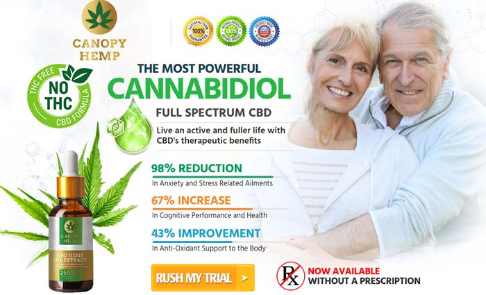 Buy Canopy Hemp CBD oil
