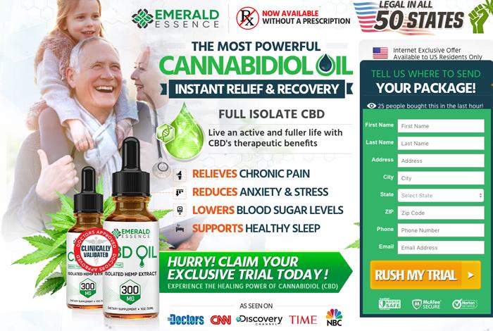 Emerald Essence CBD Oil Review