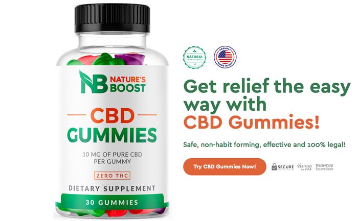 Order Natures Boost CBD Gummies