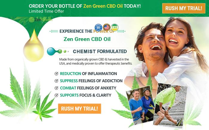 order zen green cbd oil
