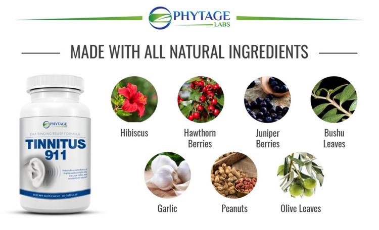 tinnitus 911 ingredients