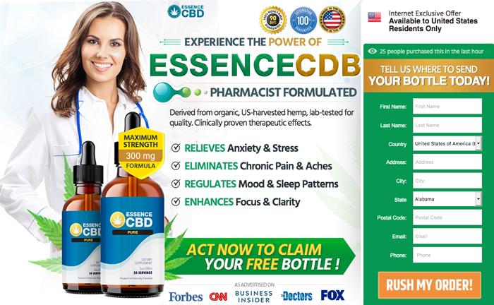 Order Essence CBD Pure Oil