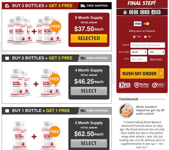 Blood Balance Advanced price