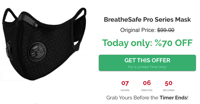 breathe safe pro mask