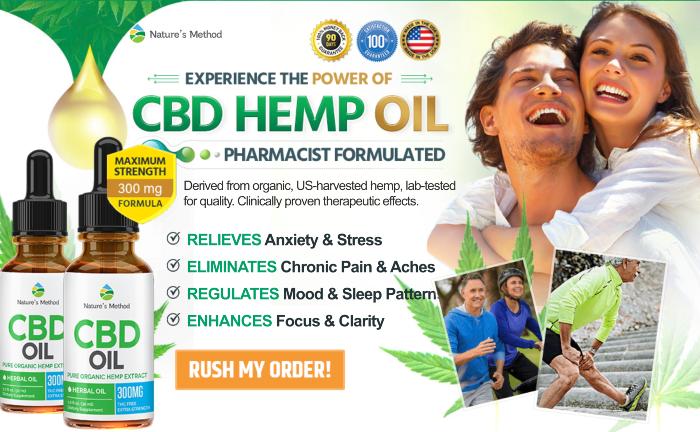 Nature's Method CBD oil