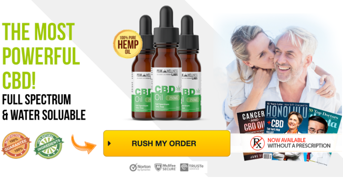 Order Peak Wellness CBD Oil