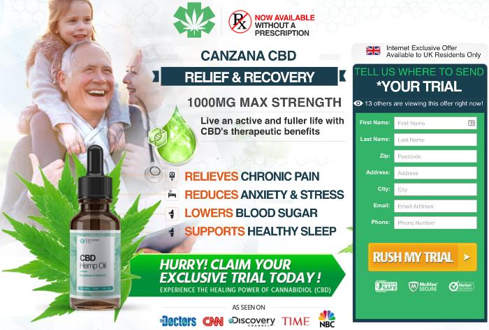 Canzana CBD Oil Review