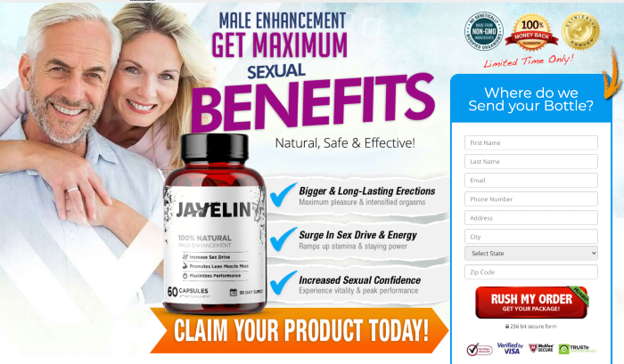 Javelin Male Enhancement Review