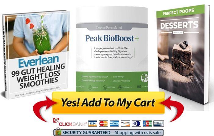 peak bioboost plus add poop supplement