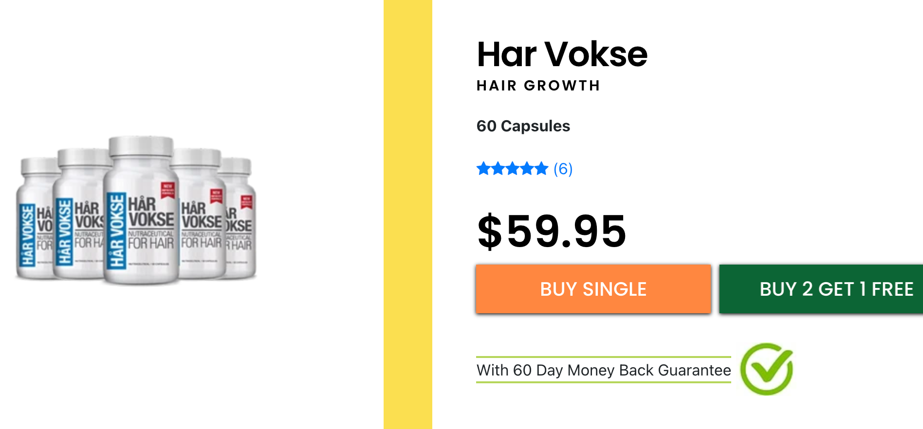 Har Vokse price