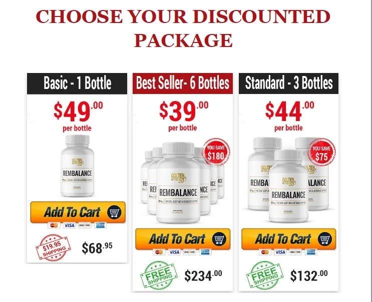 RemBalance price