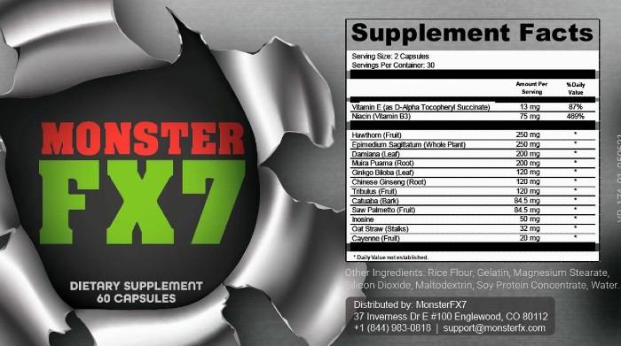 MonsterFX7 Supplement